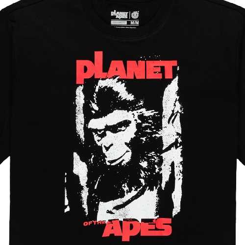 ELEMENT PLANET OF THE APES SURGE SS TEE flint black