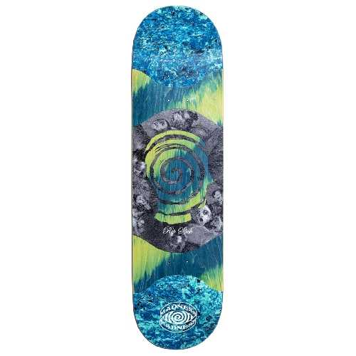 MADNESS VOICES R7 SLICK BLUE GREEN DECK 8.125 X 31.95