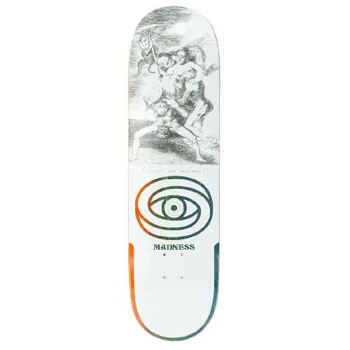 MADNESS DONDE R7 WHITE DECK 8.5 X 31.95