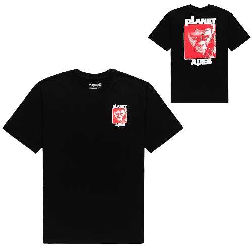 ELEMENT PLANET OF THE APES DOMINION SS TEE flint black