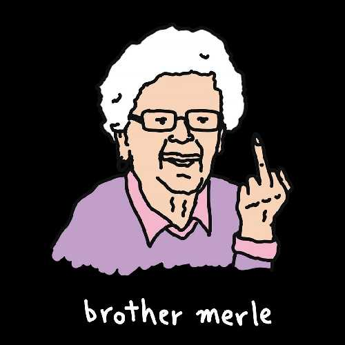 BROTHER MERLE BETTY 4 0 TEE black