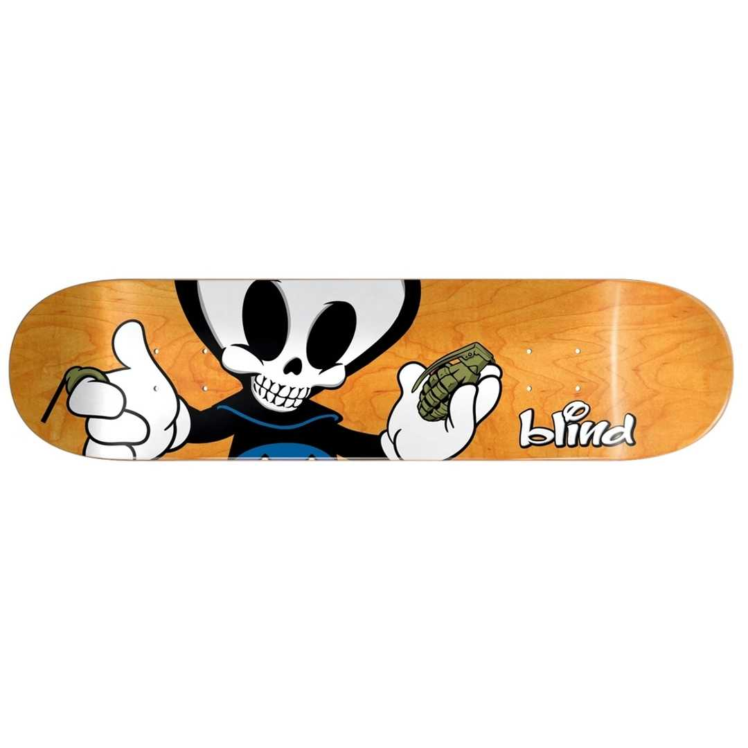 BLIND PAPA REAPER CHARACTER R7 DECK 8 x 31.68